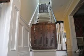 Gate For Stairs Hand Made Stair Gates By Hollow Tree Custommadecom