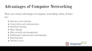 computer network assignment help 12 advantages of computer