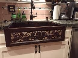 eden copper farmhouse kitchen sink