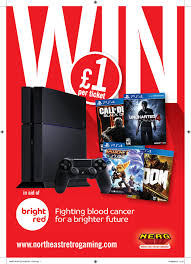 nerg raffle tickets now on top prize ps bundle nerg raffle poster ps4 page 001