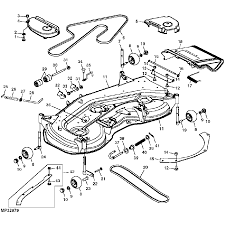 John deere z445 wiring diagram best of john deere oem 54 quot convertible mower deck shell