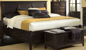 king platform storage bed. King Platform Storage Bed