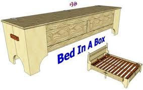 medieval bed in a box.  Box CLICK HERE TO GET ALL FREE Medieval Folding Bed Plans PDF VIDEO Intended In A Box