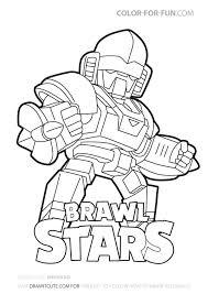 Brawl stars is een gekke multiplayer vechtgame. 210 Ideeen Over Brawls Stars Kleurplaten Tekenen Strijkkralen Cupcake