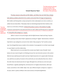 critical response essay format to literature com  critical response essay format 8 the first paragraph