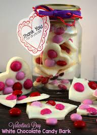 valentine s day m m s strawberry bark recipe simple treat kids can make for daycare providers