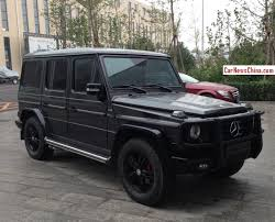mercedes g wagon matte black 2015. Simple 2015 Spotted In China Kleemann MercedesBenz G550 For Mercedes G Wagon Matte Black 2015