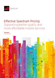 Wireless Spectrum Chart Holdings By Carrier Effective Spectrum Pricing Supporting Better Quality And