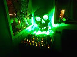 halloween party lighting. giant skull voodoo shrine halloween party lighting