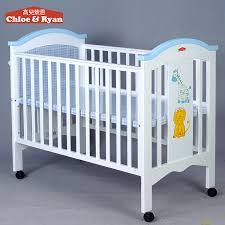 entranching baby bed for on fashion comfortable large europe swing cot beds