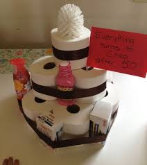 fun 60th birthday party ideas for mom. Toilet Paper Cake - Fun Gag Gift For Anyone Turning 50 60th Birthday Party Ideas Mom
