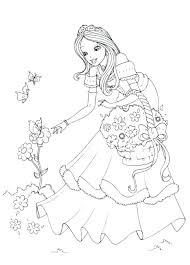 Coloring Pages Print Disney Princess Coloring Pages Aurora Page