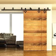 bedroom exterior sliding barn door track system. 5 Bypass Sliding Barn Door Hardware Double Track Kit . Bedroom Exterior System Y