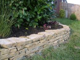 flagstone landscaping.  Landscaping Crab Orchard Flagstone Wall In Nolensville Tn  With Landscaping