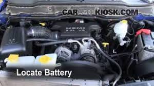 blown fuse check dodge ram dodge ram  battery replacement 2006 2008 dodge ram 1500