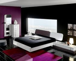 Purple Bedroom Decorations Black And White And Purple Bedroom Luxhotelsinfo