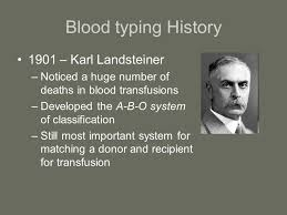 Image result for landsteiner