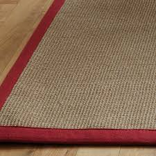 natural sisal rugs natural flooring rugs with red border jute rug with navy border
