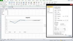 how to extrapolate excel graph
