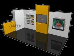 Photo Booth Design Hot Item 2019 Advertising Modular Aluminum Trade Show Stand Exhibition Booth Design Display Case