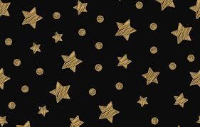 Wallpaper stars, gold, golden, black ...