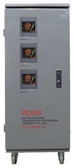 <b>Стабилизатор напряжения</b> трехфазный <b>РЕСАНТА</b> ACH-<b>30000/3</b> ...