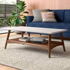 Marble square coffee table tables. Modern Contemporary Two Tier Coffee Table Allmodern
