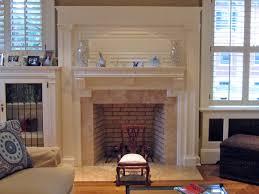 image of decor elegant fireplace refacing design