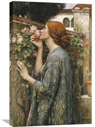 the soul of the rose by john william waterhouse painting print on wrapped canvas