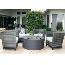 fire pit patio furniture sets s with gas table outdoor propane dining