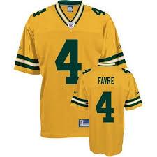Jersey Throwback Hot Bay Nfl Green Reebok Authentic Packers Brett Men's Favre Yellow 4