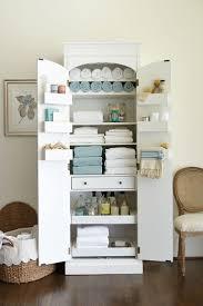 Bathroom Linen Cabinet Cabinets Best Freestanding Closet Ideas On ...