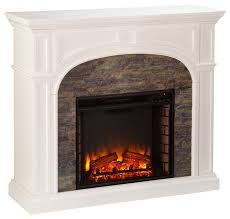 burnham stacked stone effect electric fireplace
