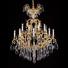 versailles 33 inch hanging chandelier with clear crystal 5100 12