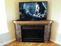 unique design stone electric fireplace stand best corner images on fireplaces tv innovative ideas stone electric fireplace corner
