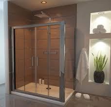 image for edsld14 edfsp90 ergonomic designs 1400 x 900 double sliding shower door enclosure