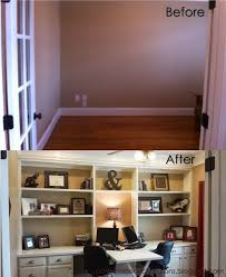 diy home office furniture. Home Office Built With Stock Kitchen Cabinets From Lowe\u0027s. DIY Dad\u0027s Help. :) :: Before And After Diy Furniture