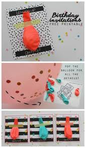 best 25 diy birthday party birthday best 25 diy birthday invitations ideas on pinterest