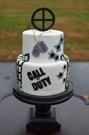 Call Of Duty Birthday Cake For A 16 Year Old Boy Cakes Call Of