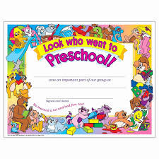 free preschool certificates preschool certificate templates awesome free printable