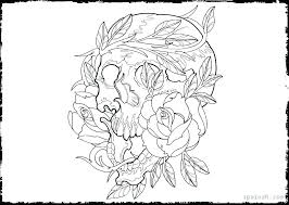 Day Of The Dead Coloring Day Of The Dead Coloring Page Day Of The