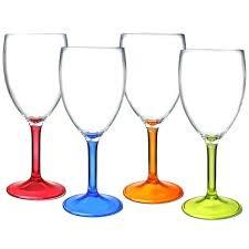 plastic wine glass acrylic wine glasses plastic wine clear plastic wine glasses plastic stemless wine glasses