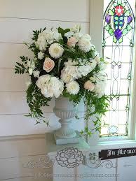 Vintage Wedding Ceremony Flower Arrangements Urns Floral A Flickr