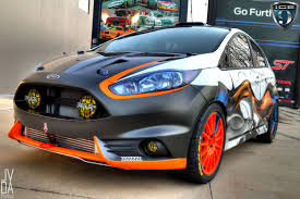 Focus St Rally Lights Lights Yes Paint Not So Much Ford Fiesta St Rally Car