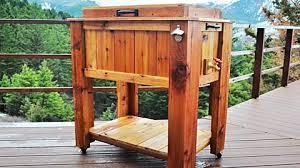 how to a make diy patio cooler