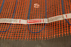 stickymat radiant floor heating warmup electric radiant heat