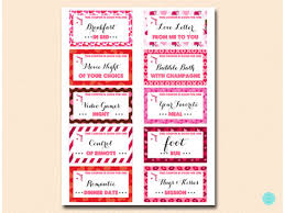 Printable Love Coupons For Him Or Her