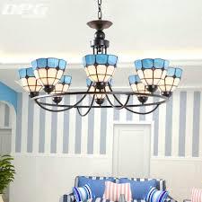 mediterranean lighting. Mediterranean Lamp 4 6 8 E27 Retro Living Room Chandelier Tiffany Style Stained Glass Iron Lights Lighting I