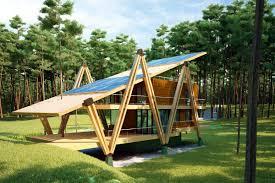 A Shaped House Design Energy Efficient Grasshopper Shaped House