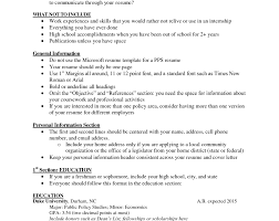 Chauffeur Driver Sample Resume High School No Experience Resume